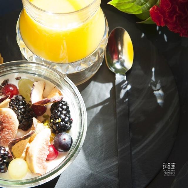 una colazione da Potafiori tra i profumi dei fiori freschi