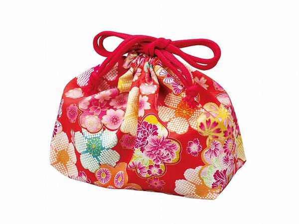 borsa porta-pranzo floreale