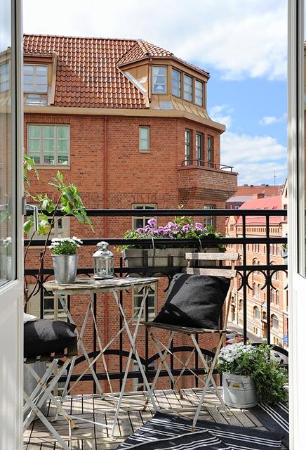 ispirazione per il balcone