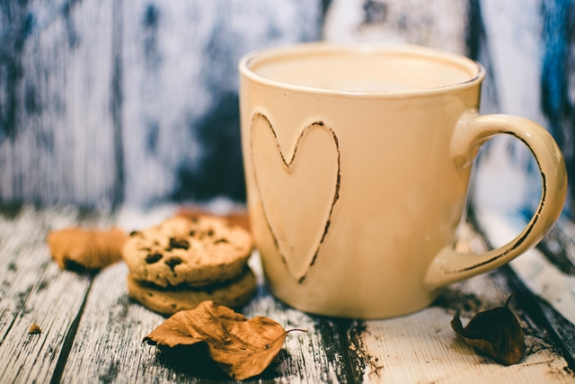 una tazza di caffè per iniziare la giornata
