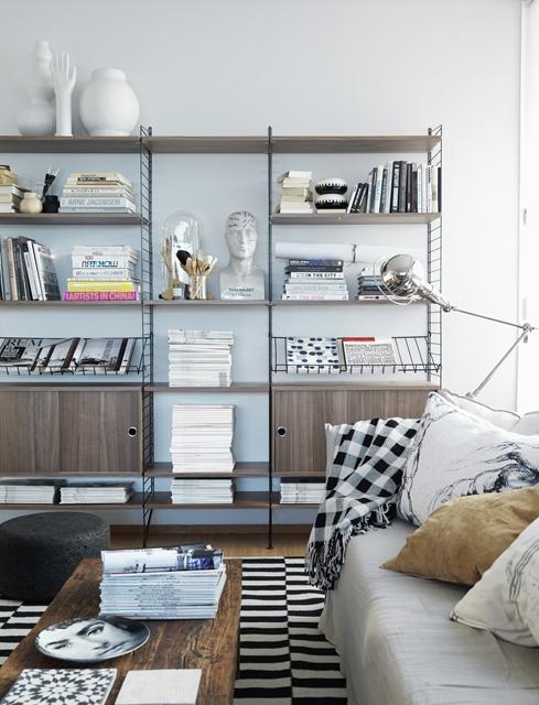 usare string system come libreria nel living