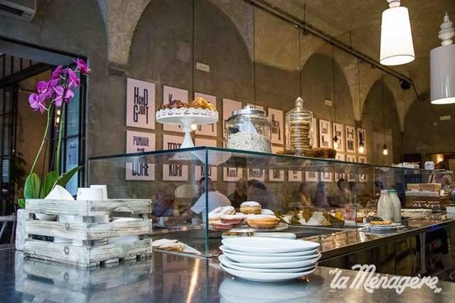 locali di design - colazione concept restaurant La Menagere a Firenze