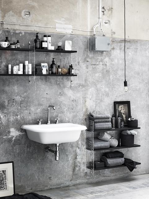 usare string system come mobile per il bagno