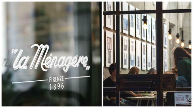 locali di design - ingresso concept restaurant a Firenze