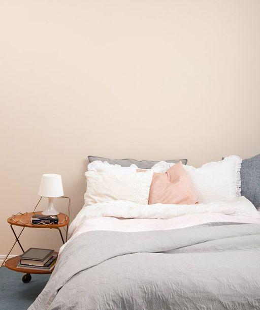 Colore delle pareti: tinta pastello per la camera