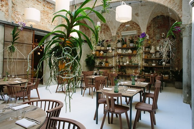 La Menagere Firenze concept restaurant