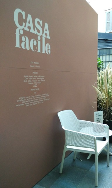 Salone del Mobile Casa Facile progettata da Studio Pepe