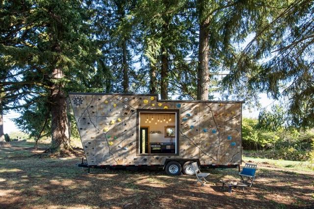 rivestimento esterno da rampicata piccole case