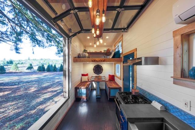 grande finestra cucina piccola casa