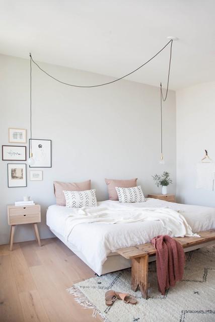 Colore delle pareti: un colore chiaro per dare luce alla stanza