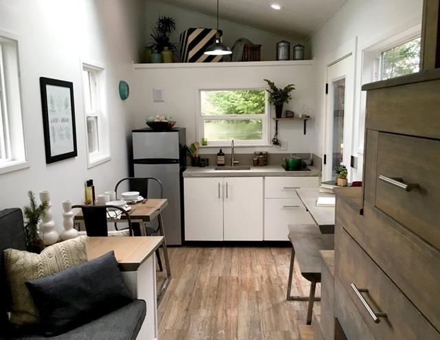 cucina moderna piccola casa