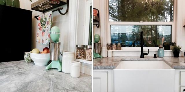 dettagli della cucina piccole case