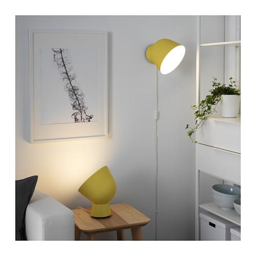 Illuminazione casa consigli e idee di design e low cost - Lampada tavolo ikea ...