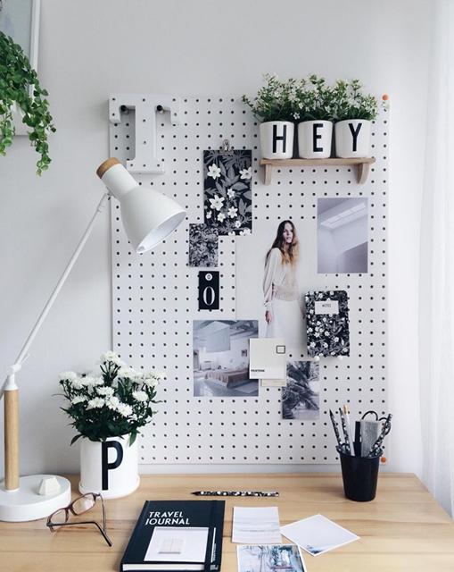 Creare l 39 angolo studio in soggiorno il mio progetto my for Oggetti minimal