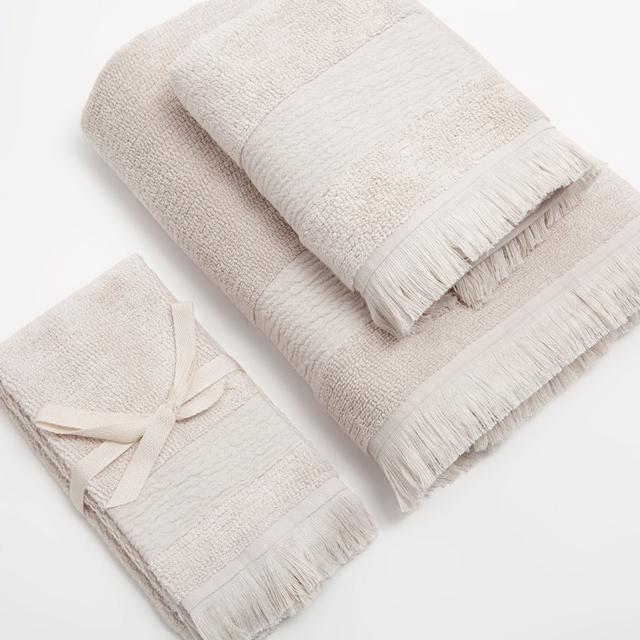 asciugamani per il bagno in cotone