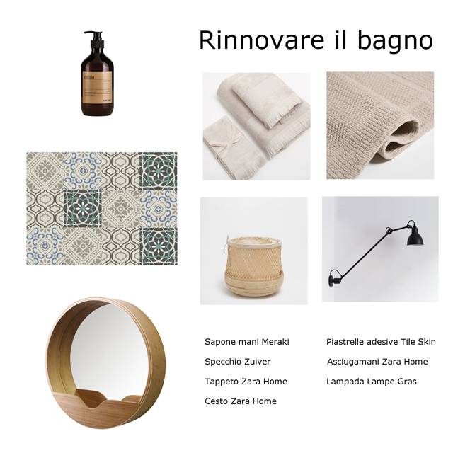 Come rinnovare il bagno spendendo poco my touch design - Rinnovare il bagno ...
