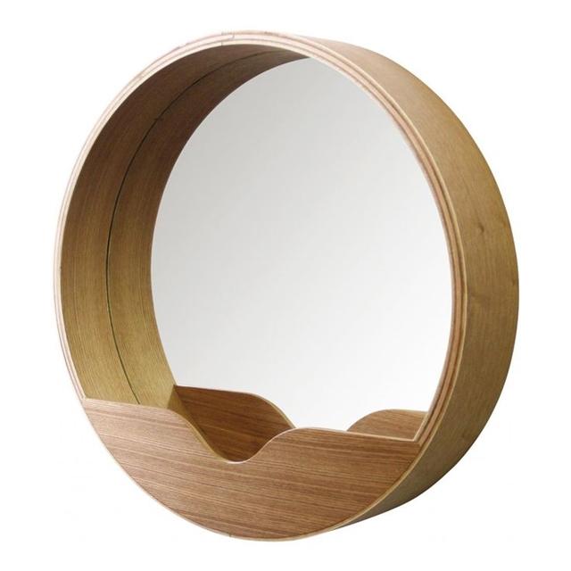 rinnovare il bagno specchio di design con porta oggetti
