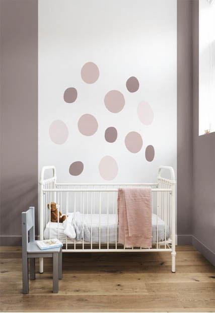la tendenza casa è il colore heartwood per la camera dei bimbi