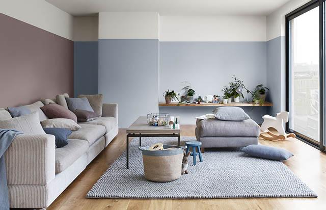 la tendenza casa per il soggiorno è il colore heartwood