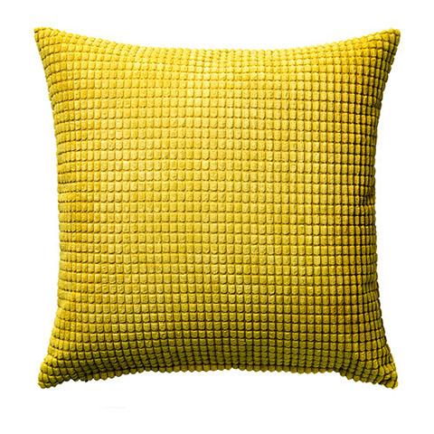 fodera per il cuscino giallo ikea