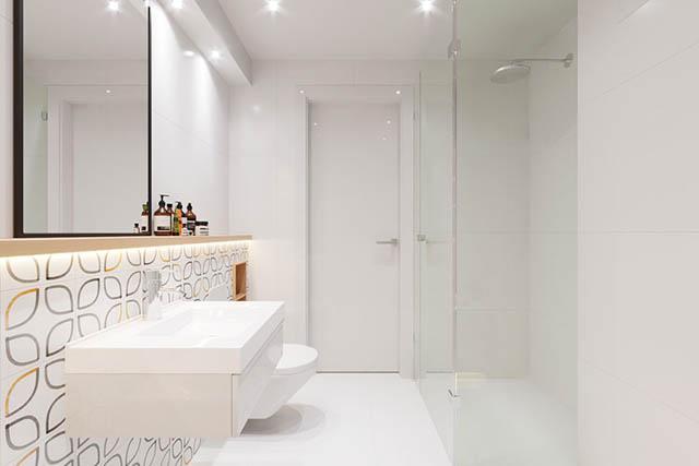 home-tour design appartamento piccolo giovanile bagno luminoso