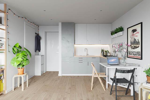 home-tour design appartamento piccolo giovanile cucina e tavolo