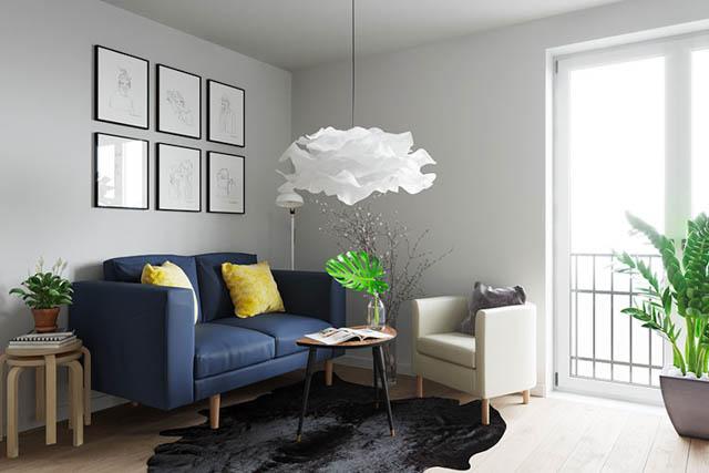 home-tour design appartamento piccolo giovanile living