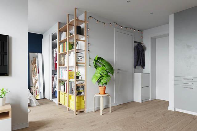 home tour design appartamento piccolo giovanile ingresso