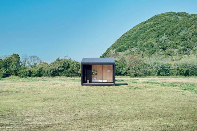 minimal home in legno ecosostenibile made in giappone