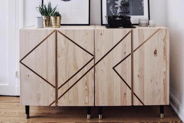 Credenza Ikea Nera : Idee per trasformare il mobile ivar di ikea my touch design