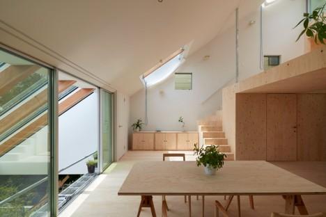 sala da pranzo di una casa giapponese di design