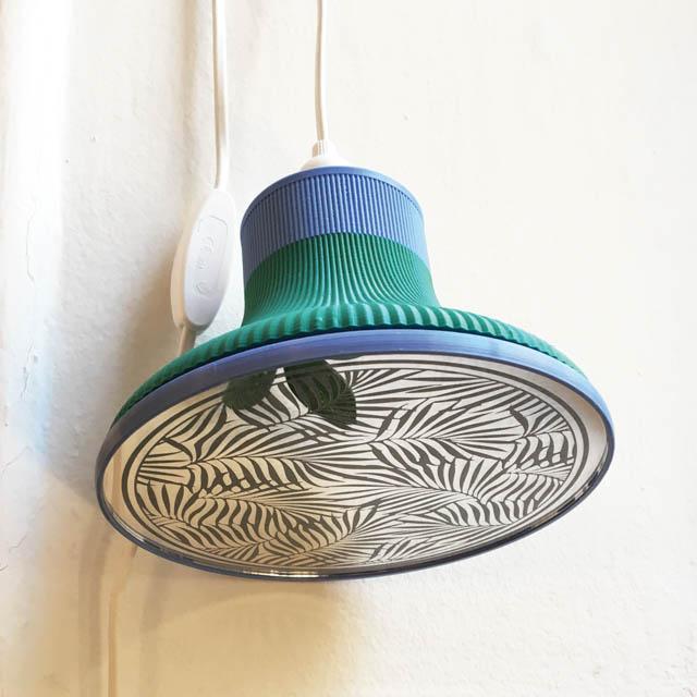 lampada design con specchio