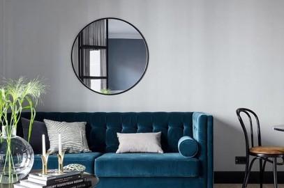 My touch design il blog di interior design che cercavi - Divano velluto blu ...