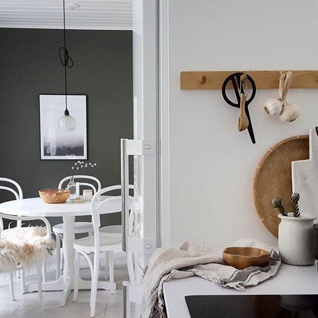 peg rail usato in cucina