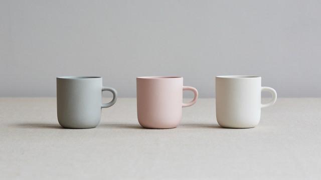 tazzine da caffè colori pastello artigianali