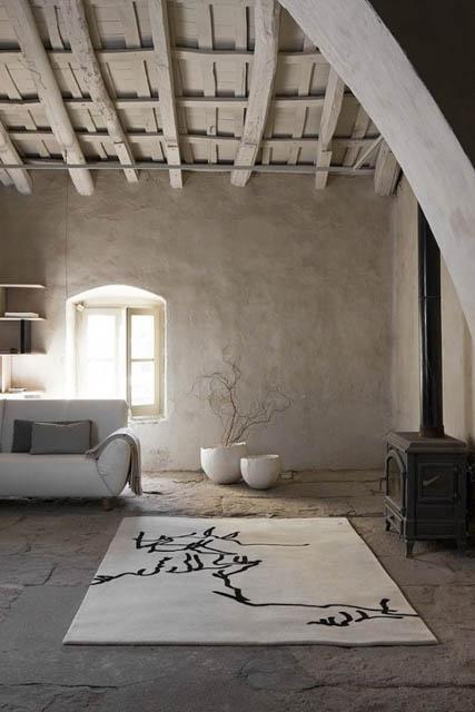 semplicità naturalezza nel soggiorno stile wabi sabi