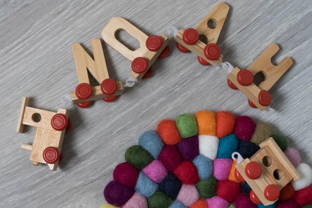 tappeto di palline colorate per la cameretta dei bimbi