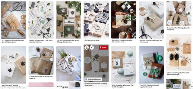 bacheca pinterest pacchetti di natale my touch design