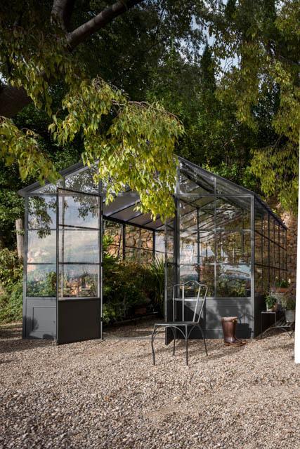serra in ferro e vetro da giardino